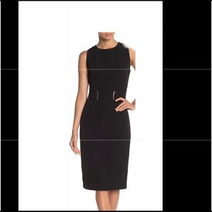 NEW with tags T Tahari Belted Sheath Dress size 8
